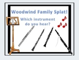 Woodwind Family Splat! - A Listening Game.