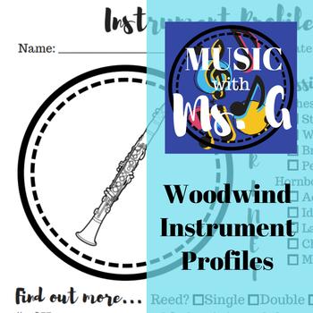 Woodwind Instrument Profiles
