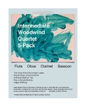 Woodwind Quartet 5-Pack (Intermediate)