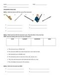 Woodwind family quiz