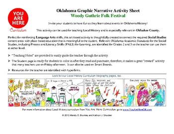 Woody Guthrie Folk Festival Activity