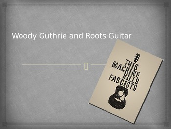 Woody Guthrie and the Music of the Great Depression