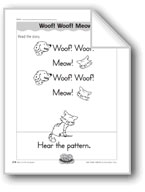 Woof! Woof! Meow! (patterns)