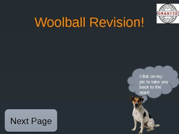 Woolball Powerpoint Revision Template
