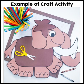 Woolly Mammoth Cut and Paste
