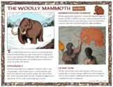 Woolly Mammoth Facts for Kids: Fact Sheet, Coloring Pages, and a Maze!
