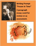 Woolly Mammoth Writing prompt for review or assessment 3 paragraph essay