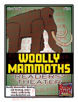 Woolly Mammoths Readers' Theater! - Unit 1 (1st & 2nd Grades)