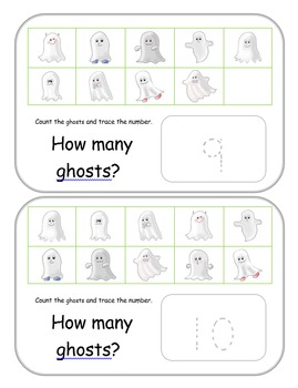 Woooo....Ghosts! Let's count them!