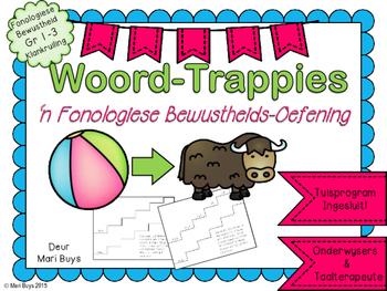Afrikaans Woord-Trappies Fonologiese Bewustheid Klankruiling Graad 1-3