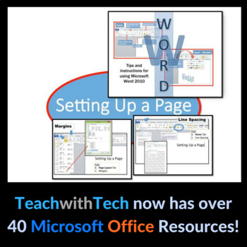 Microsoft Word 2010 - Setting Up a Page