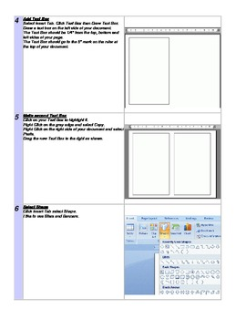 Microsoft Office Word 2010 Storybook Project