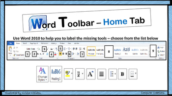 Word 2010 Toolbar Activity - All Tabs