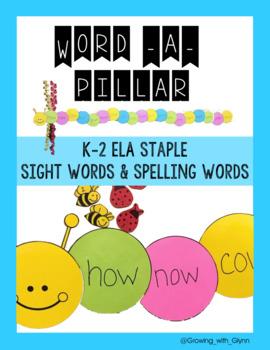 Word-A-Pillar (An easily modified, reusable ELA staple)