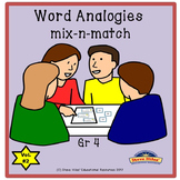 Word Analogy Task Cards