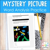 Word Analysis Digital Activity for Google Forms™   Mystery Picture   SOL 3.4