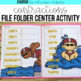 Word Analysis File Folder Center BUNDLE
