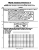 Word Analysis QR Code Practice Sheet 8 - SOL 4.4