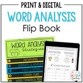 Word Analysis Strategies Flip Book (SOL 4.4)