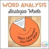 Word Analysis Strategies Wheels