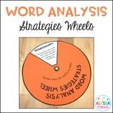 Word Analysis Strategies Wheels