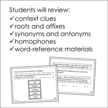 Word Analysis Task Cards (SOL 4.4)