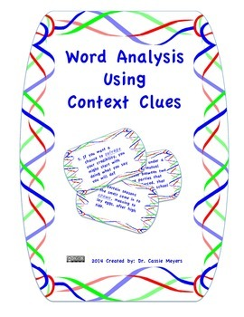 Word Analysis of Unfamiliar Words Using Context Clues