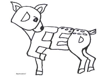 Word Animal - Deer