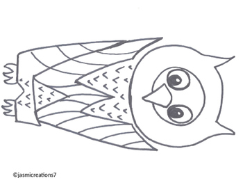 Word Animal - Owl