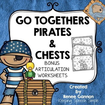 Language Activities for Early Learners - Pirate Themed