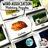 Word Association Puzzles for Speech Therapy