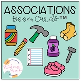 Word Associations Speech Therapy: No Print Boom Cards™