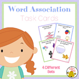 Word Associations Task Cards