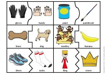 Word Associations - Vocabulary & Semantic Relationships Activity