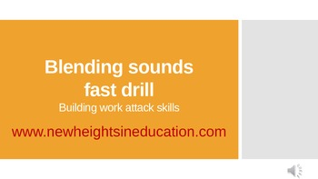Word Attack Drill