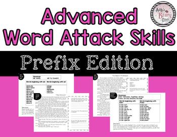 Word Attack: Prefixes