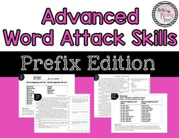 Word Attack: Prefixes