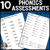 Phonics Assessments (Decoding)