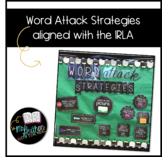 Word Attack Strategies Bulletin Board Kit - Aligned with ARC/IRLA
