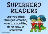 Word Attack Strategies: Display Posters