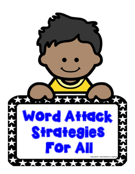 Word Attack Strategy Concept Cards