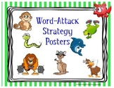 Word-Attack Strategy Posters