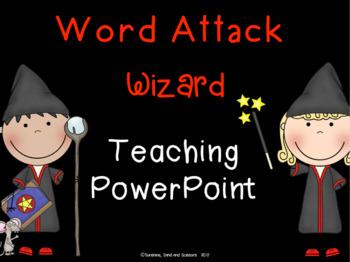Word Attack Wizard - word attack strategies curriculum