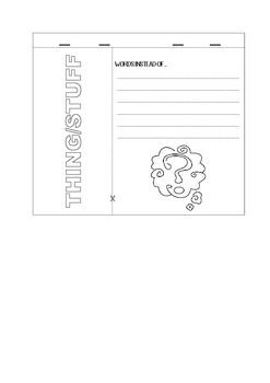 Word Bank Flip Book
