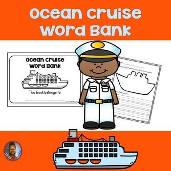 Word Bank Booklet: Ocean Cruise
