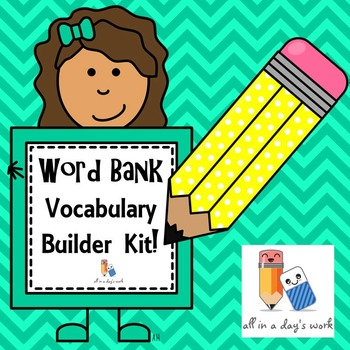 Word Bank Vocabulary Builder Kit