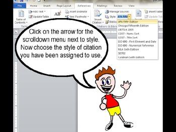 Word Bibliography Tutorial