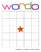 Word Bingo Template - Wordo - Differentiated