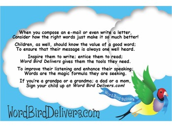 Word Bird Delivers Vocabulary for K-2