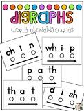 Word Blending Cards: Digraphs
